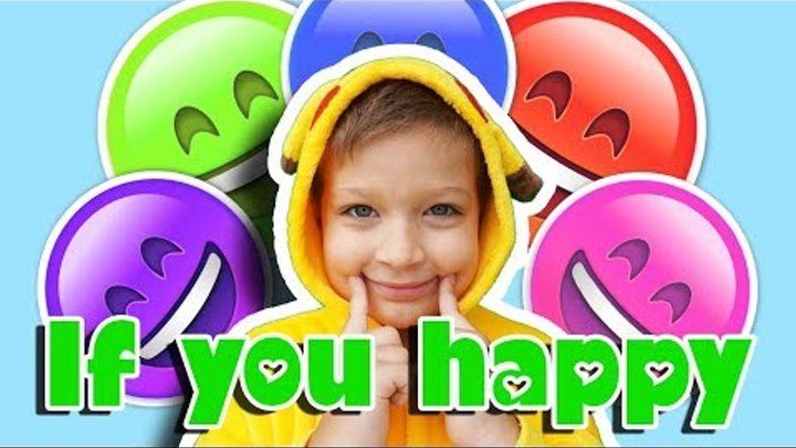 If you're happy happy happy clap your hands | Super Simple Kids Songs by Funny Max Show