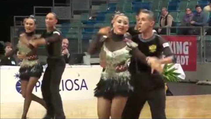 Duet Perm, RUS | The Race | 2015 World Formation Latin | Final