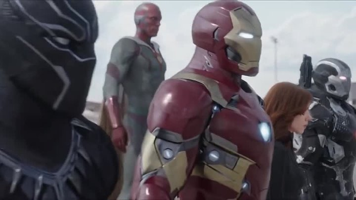 Captain America - Civil War TV Spot #5 HD Black Panther vs Cap