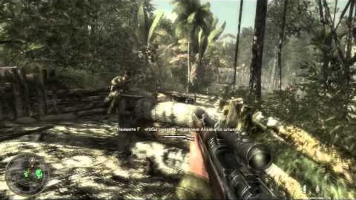 Прохождение Call of Duty: World at War. Миссия 7