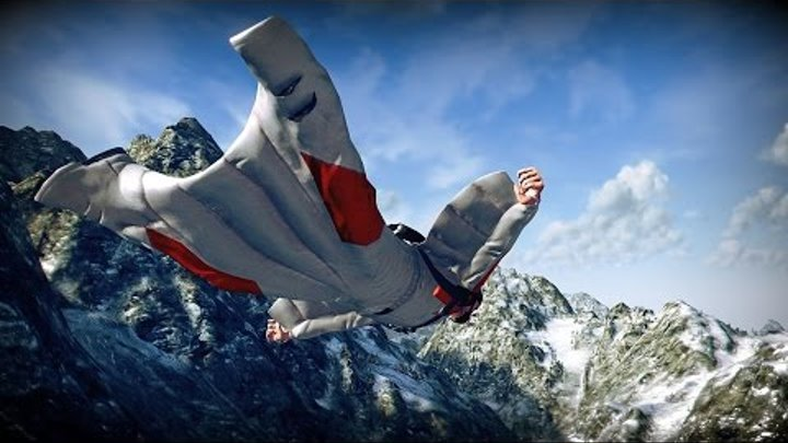 MarcelDeVan - Official Boot Mix - VII [ The Synth Dance - 2016 ][Best Wingsuit BASE Jumping]