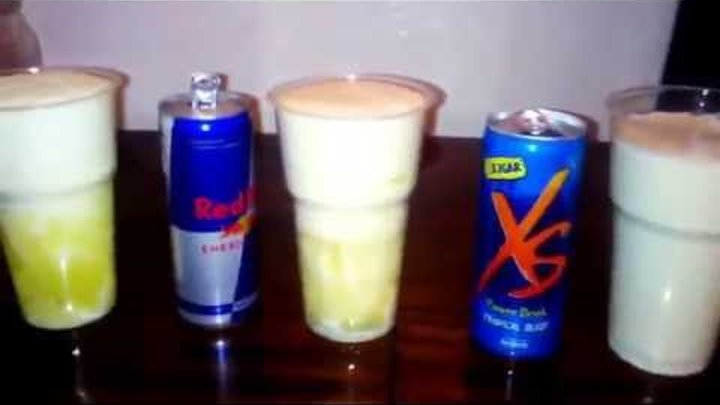 ОПЫТ XS ENERGY DRINK vs RED BULL vs BURN 2