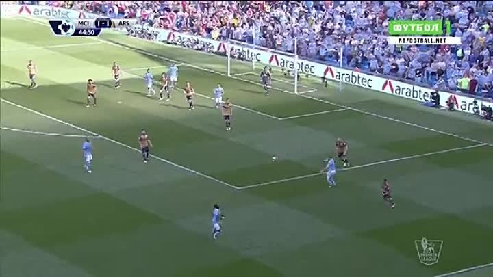 EPL 2015-16 MD37 - Manchester City vs Arsenal 01st Half
