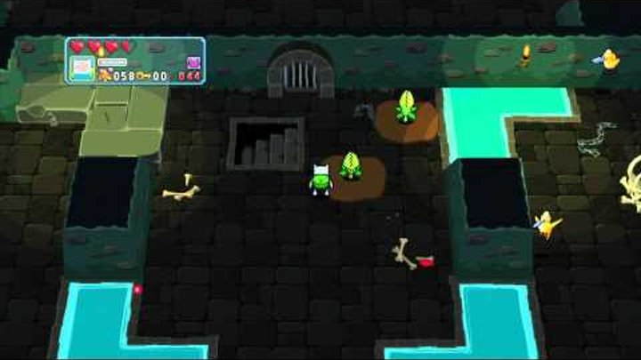 Adventure Time: Explore the Dungeon Because I DON'T KNOW! Walkthrough Gameplay Part 4 HD 1080p