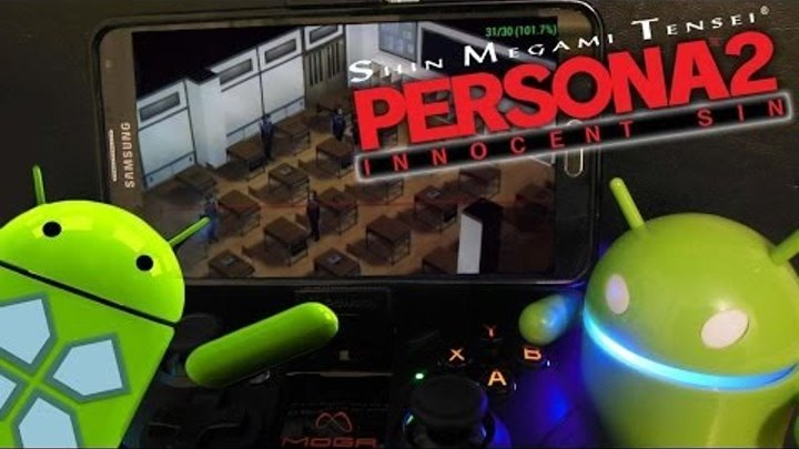 Shin Megami Tensei: Persona 2 - Innocent Sin PPSSPP Gameplay on Note 3 with MOGA Pro + SETTINGS