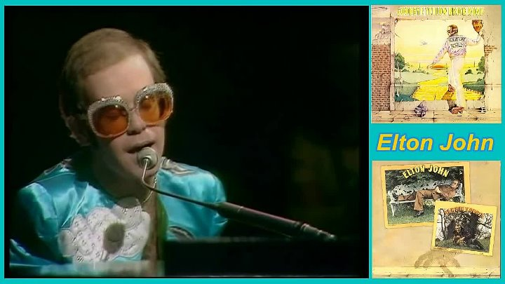 Elton John - Goodbye Yellow Brick Road - 1973 - Live HD - HD 720p - группа Рок Тусовка HD / Rock Party HD
