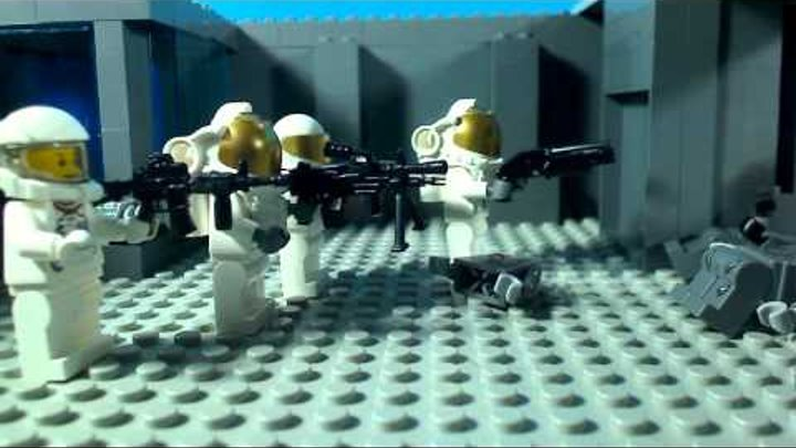Lego Nazi Zombies moon gameplay