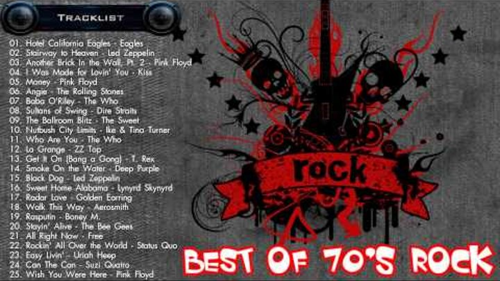 Best of 70s Rock - Greatest 70s Rock songs - 70s rock hits Collection