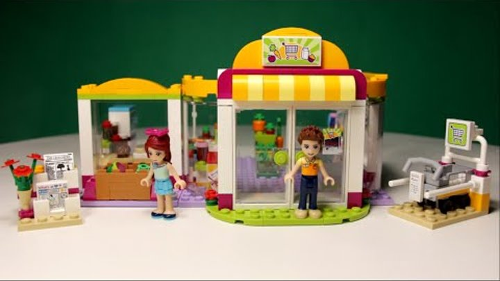 LEGO FRIENDS - HEARTLAKE SUPERMARKET, 41118 / ЛЕГО ФРЕНДС - СУПЕРМАРКЕТ,41118.
