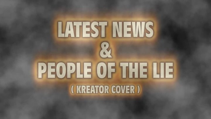 Ex- Kreator Members Frank Blackfire & Roberto Fioretti 2012 - People of the Lie