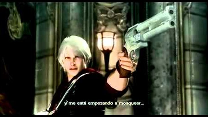 Devil May Cry 4 Nero vs Dante Full HD JohneCashTV