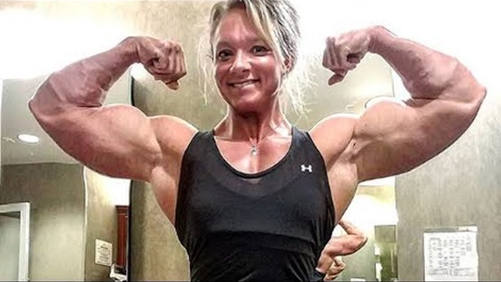 Girl with Huge Muscles | Jessica martin Female Bodybuilder