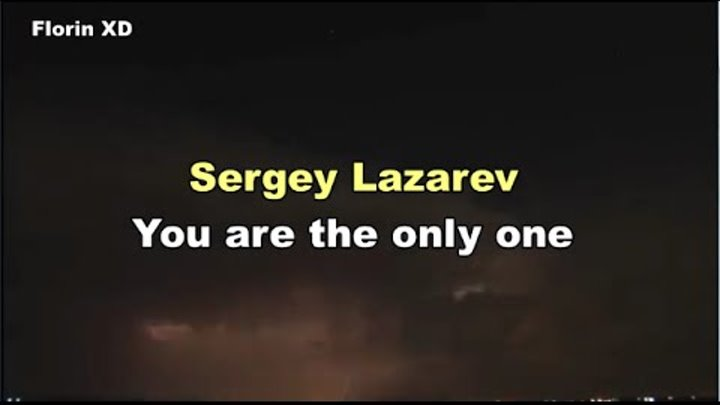 Sergey Lazarev | You are the only one | Lyric Video | Eurovision 2016 Russia