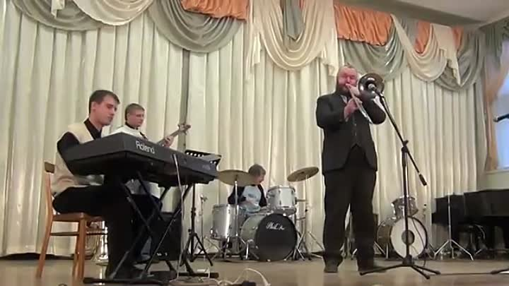 TRADITIONAL JAZZ STUDIO VLADIMIR & NIKOLAY SIZOV RUSSIAN JAZZ 2015 JAZZ - PANORAMA! I REMEMBER CLIFFORD BENNY GOLSON.