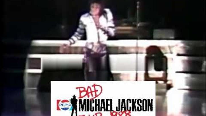 Michael Jackson Human Nature Complete Bad Tour 88 HQ