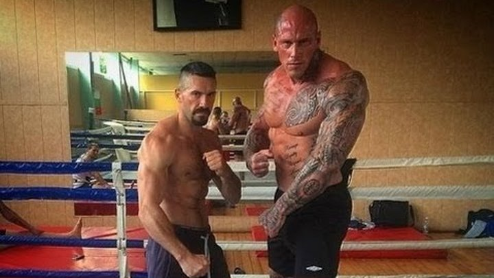 Martyn Ford Training for Undisputed - IV 2016