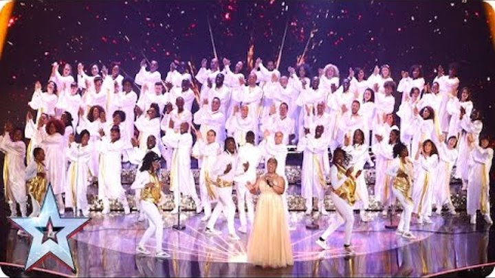 Is it going to be a good night for 100 Voices of Gospel? | Grand Final | Britain's Got Talent 2016