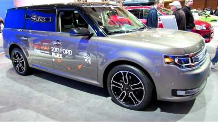 2013 Ford Flex Limited Exterior and Interior at 2012 Toronto Auto Show