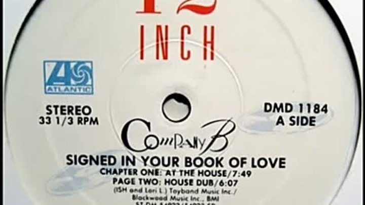 Company B - Sign in Your Book of Love [Ciro Llerena Club Mix]