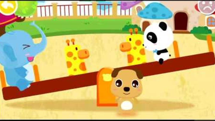 Learn to Feel Emotions! Baby Panda Game For Kids. Чувства - игра для детей