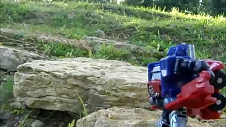 Transformers Stop Motion movie.[720p] HD