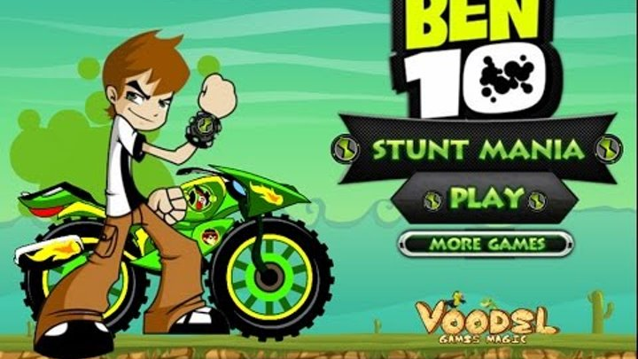 Ben 10 3D Racing Online Game for boys (Free Online Cars Games 2013)
