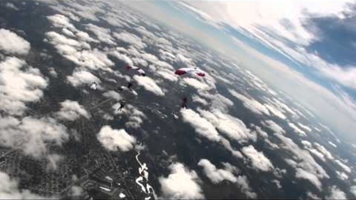 Wingsuits over Florida - Red Bull Skydive Team