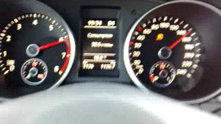 vw golf vi 1.4 tsi dsg 2010 160hp 118kw 240nm acceleration 0-100 0-160
