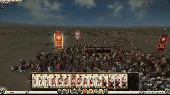 Total War:Rome 2 Online Battle - Tyamich & Rimas (Рим и Эпир) - #8