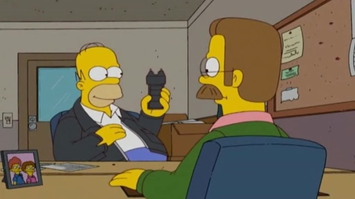 The Simpsons - This taser is awesome