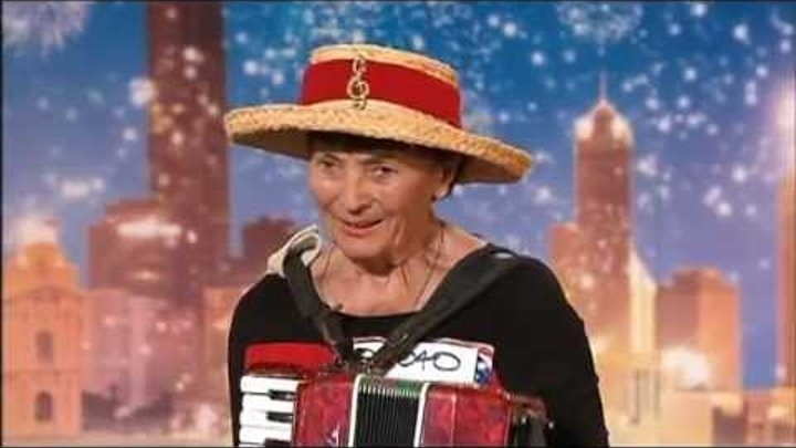 Sophia - Busking Granny - Australia's Got Talent 2012 audition 5 [FULL]