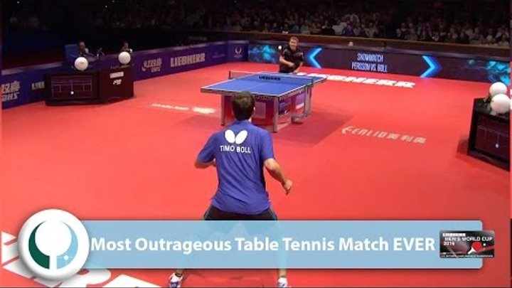 Most Outrageous Table Tennis Match EVER