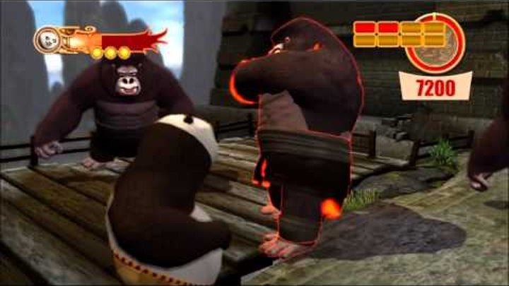Kung Fu Panda 2: Free Play: Combat - Hard Gold[Part1 of 2][HD][XBOX 360][Gameplay]