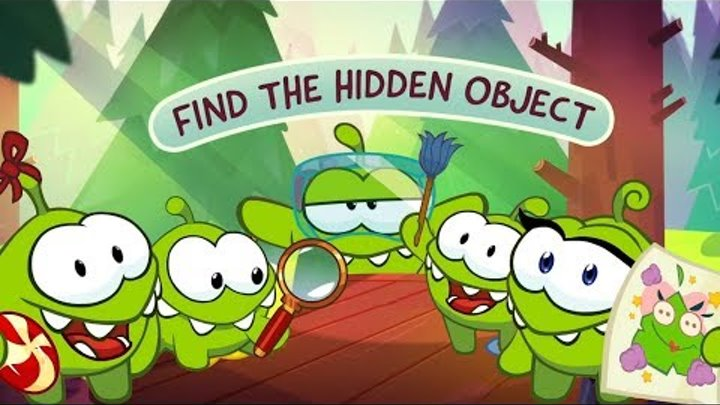 Om Nom full episodes. Funny cartoon & animation.