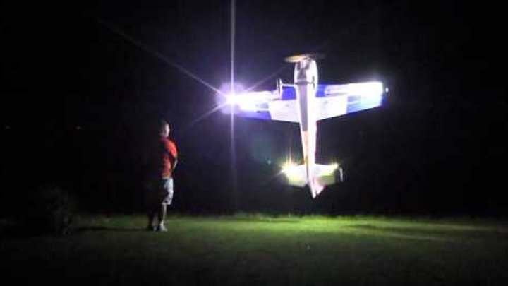 Joe Smith Amazing night flight over the pond at Joe Nall