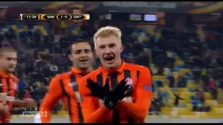 Magnificent goal by Kovalenko in the Shakhtar - Gent match