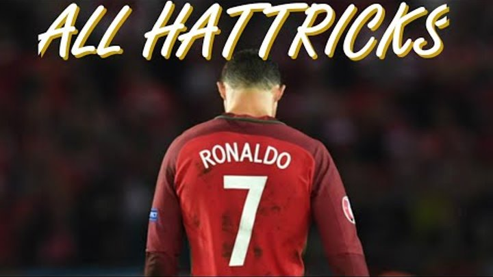 All 7 Cristiano Ronaldo Hattricks For Portugal National Team • 2013 - 2019 • With English Commentary