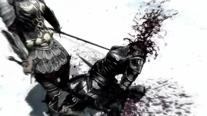 Skyrim Killcam Montage - This Is Sparta! (2012 год)