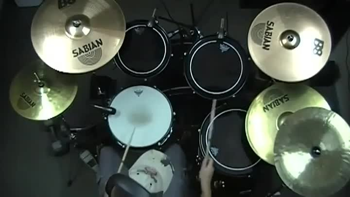 Children Of Bodom - Towards Dead End (Drum Cover)