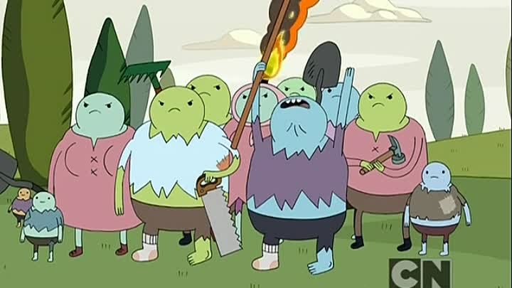 S 03 ep 03 Fionna and Cake - The Monster