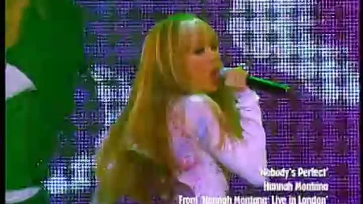 Top 10 Party Music Videos: Number 8 - Nobody's Perfect (Hannah Montana)