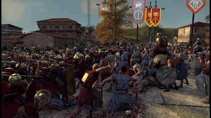 Rome 2 total war Hardcore прохождение =1= Все дороги ведут в Рим