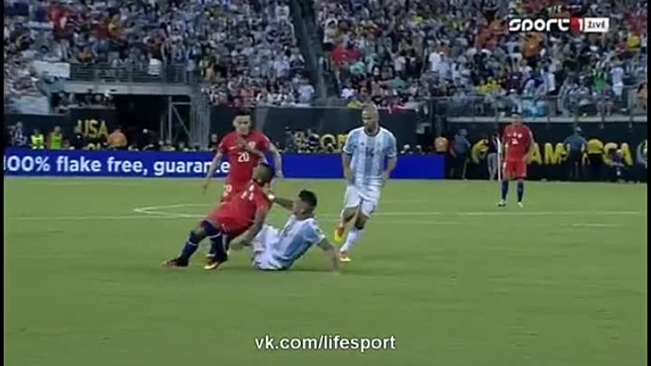 Argentina vs Chile 0_0 (pen. 2_4) _ HD All Goals & Highlights (27.06.2016)
