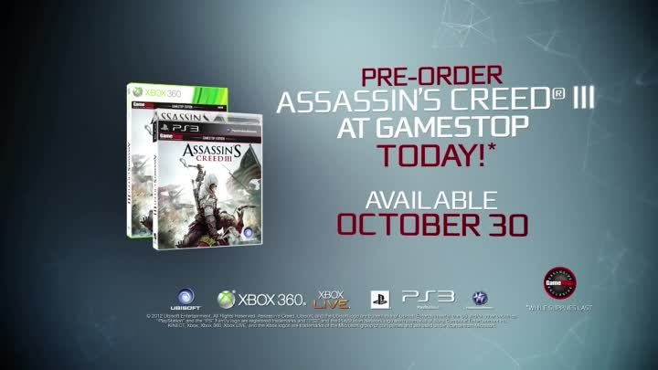 Assassins Creed III E3 2012 Cinematic Trailer Official [HD]