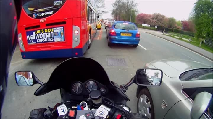 How can you see in your mirrors if they are folded in?