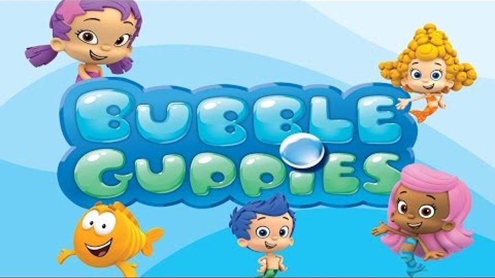 Cartoon game  BUBBLE GUPPIES Full Episodes смотреть онлайн