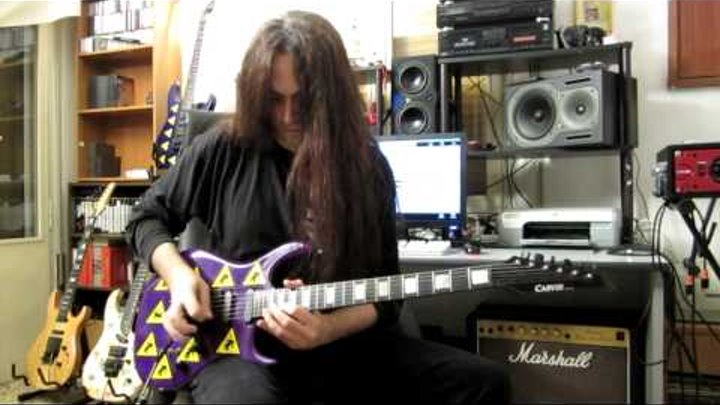 Guitar videos - DANIELE LIVERANI - Mysterious Impulse