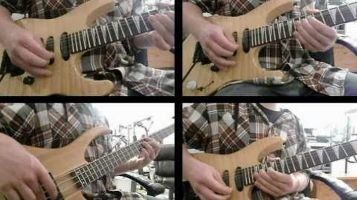 Pink Floyd, Dogs. Guitar solo cover.