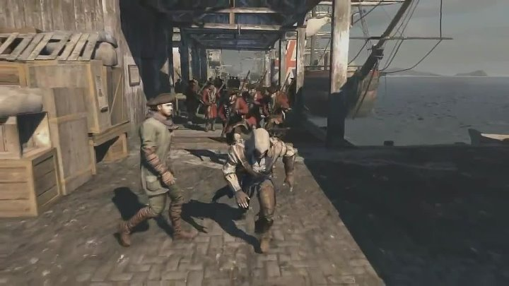 Assassin's Creed 3 Linkin Park - Lost in the Echo Music Video