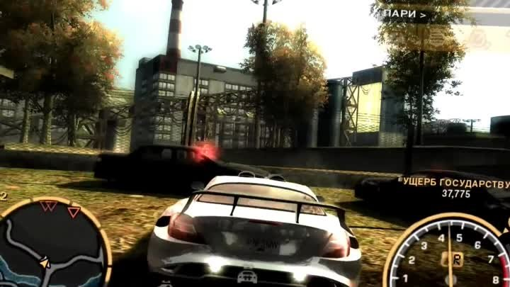 Need for Speed Most Wanted погоня mercedes mclaren